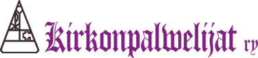 Kirkonpalvelijat Ry Logo